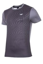 Męska koszulka fitnessowa 4F Dynamic Black