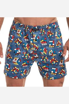 Luźne męskie bokserki Cube