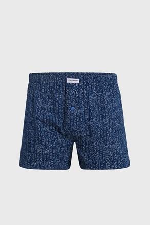 Luźne męskie bokserki Pure Cotton 5XL Plus niebieskie