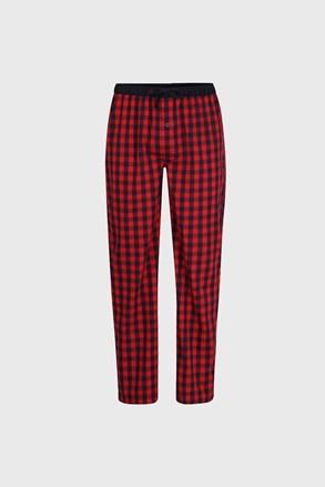 Męskie spodnie od piżamy Ceceba Mars Red
