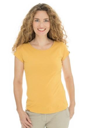 Damski żółty T-shirt Bushman Natalie II