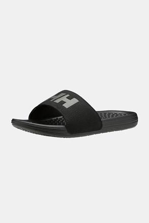 Damskie czarne pantofle Helly Hansen