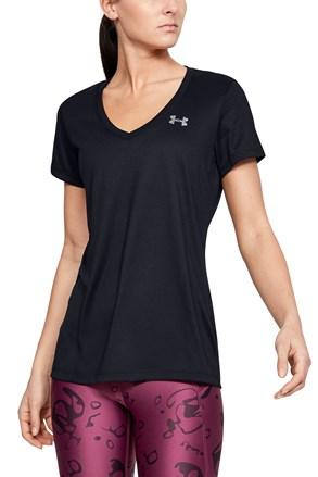 Czarny T-shirt sportowy Under Armour Solid