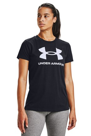 Czarny T-shirt Under Armour Live