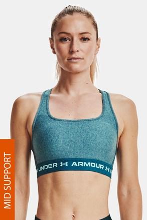 Turkusowy biustonosz sportowy Under Armour Crossback Heather
