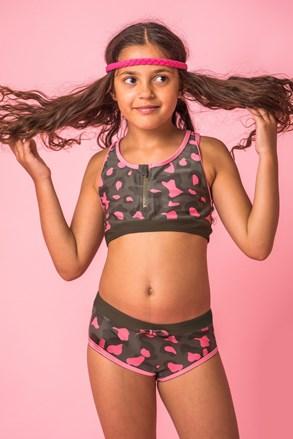 Dwuczęściowy dziewczęcy kostium kąpielowy Lea