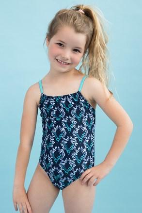 Jednoczęściowy dziewczęcy kostium pływacki Aqua