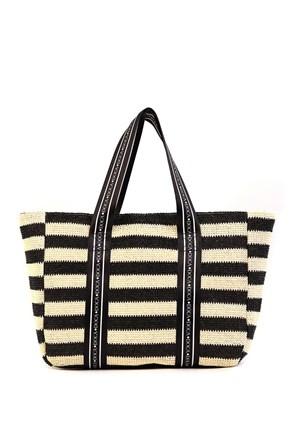 Damska torba plażowa Elle czarna