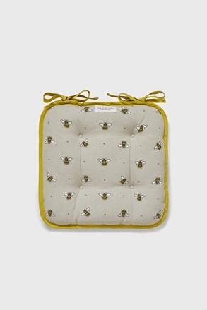 Poduszka na krzesło Pszczółki