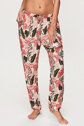 Spodnie od piżamy Hunkemöller Tropical Leaf
