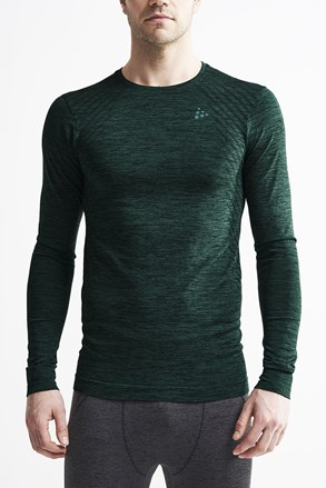 Męski T-shirt Craft Fuseknit Comfort ciemnozielony