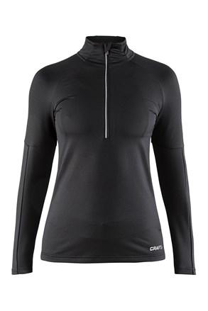Damski sportowy półgolf termiczny CRAFT Prep Black