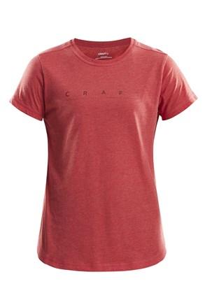 Damska koszulka CRAFT Deft czerwona