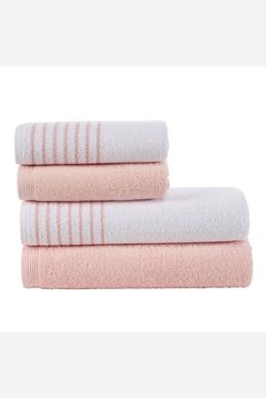 Komplet ręczników Eleganza różowy