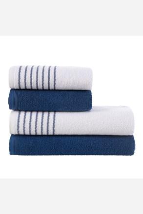 Komplet ręczników Eleganza niebieskie