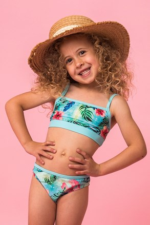 Dwuczęściowy dziewczęcy kostium kąpielowy Linda