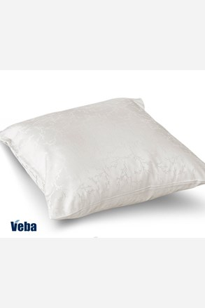 Poszewka na poduszkę Tencel gałązki biała