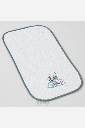Niemowlęcy ręcznik Ślimaki