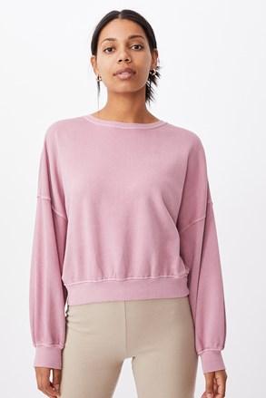 Damska bluza Cleo Balloon Oversized różowa