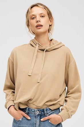 Damska beżowa bluza