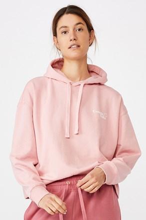 Różowa damska bluza