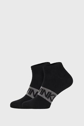 2 PACK czarnych skarpetek Calvin Klein Dirk