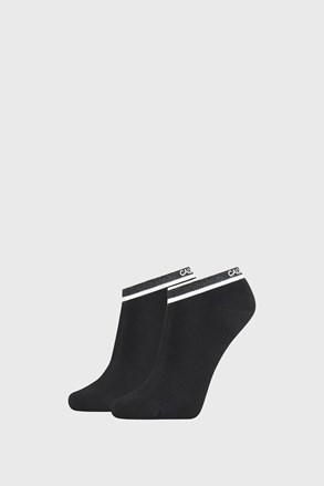 Dwupak czarnych damskich skarpetek Calvin Klein Spencer