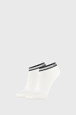 Dwupak białych damskich skarpetek Calvin Klein Spencer