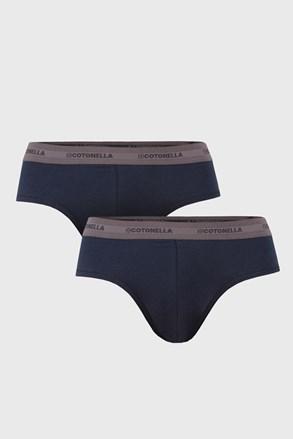 2 PACK niebieskich slipów Uomo Comfort