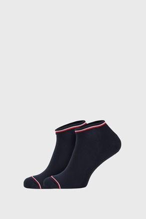 2 PACK niebieskich skarpetek Tommy Hilfiger Iconic Sneaker