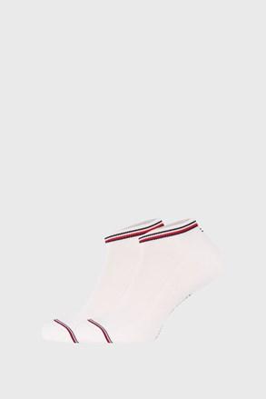 2 PACK białych skarpetek Tommy Hilfiger Iconic Sneaker