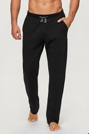 Czarne spodnie dresowe Long