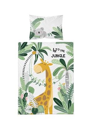 Bambusowa pościel do łóżeczka niemowlęcego Jungle