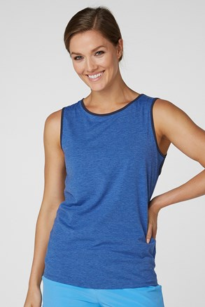 Niebieski T-shirt damski Helly Hansen