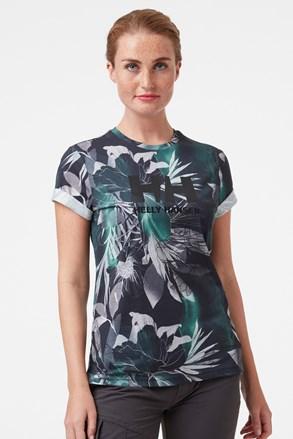 Damski wzorzysty T-shirt Helly Hansen