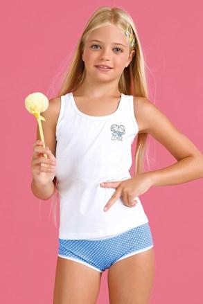 Dziewczęcy komplet: majtki i podkoszulka Bamboline I