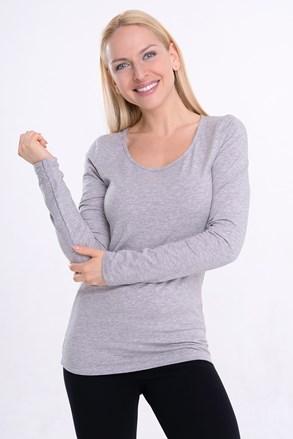 Damska bluzka Lunga z długim rękawem