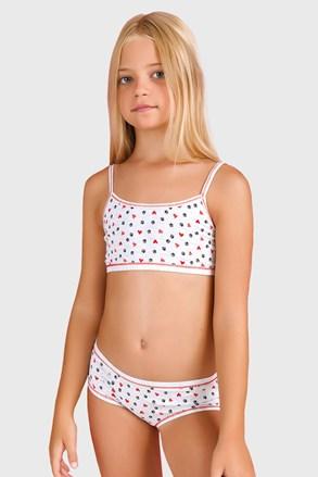Dziewczęcy komplet: majtki i top Orsetti I