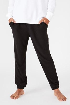 Czarne spodnie dresowe Supersoft Drake