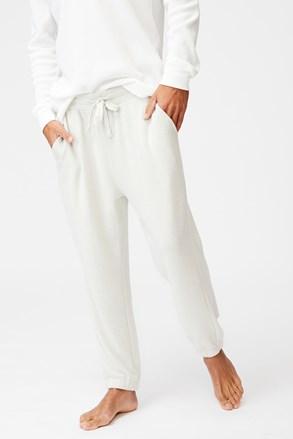 Kremowe spodnie dresowe Supersoft Drake