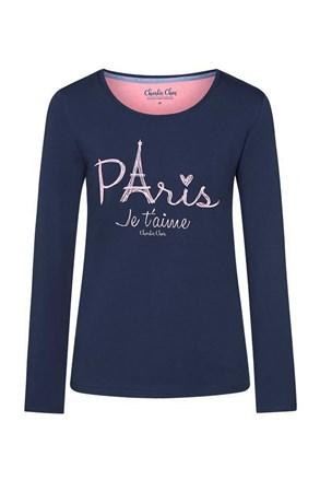 Damski T-shirt do spania Paris