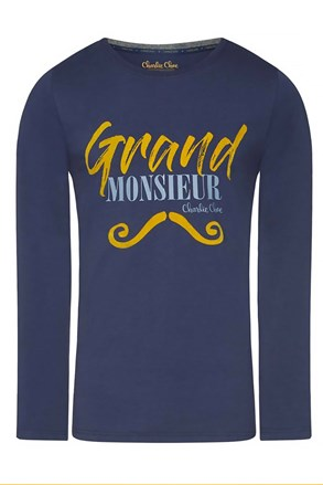Męska bluza piżamowa Grand Monsieur