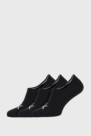 3 PACK czarnych skarpetek Calvin Klein Albert