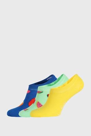 3 PACK skarpetek Happy Socks Fruits No Show
