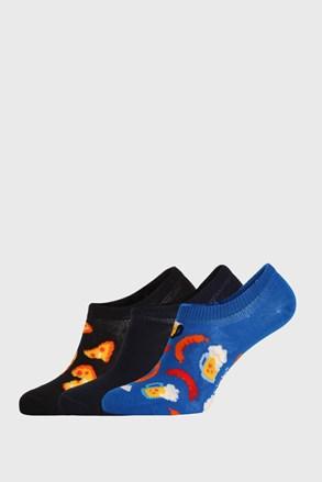 3 PACK skarpetek Happy Socks Junkfood No Show