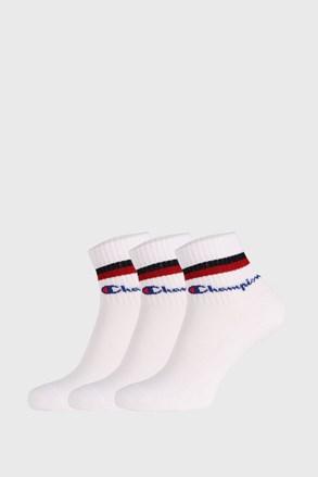 Białe skarpety Champion Classic stripes 3 PACK