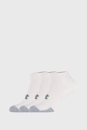 Trzypak białych skarpetek Under Armour Locut