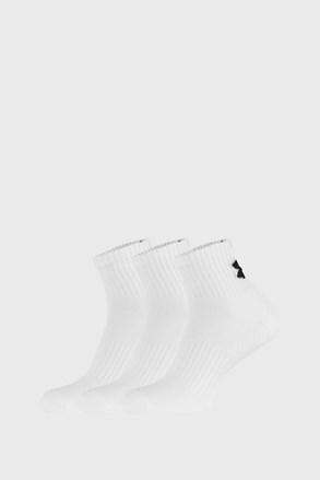3 PACK białych skarpetek Core Under Armour