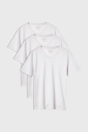 Biała koszulka Kanye 3 PACK