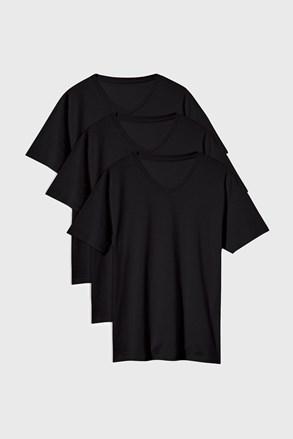 Czarna koszulka Kanye 3 PACK
